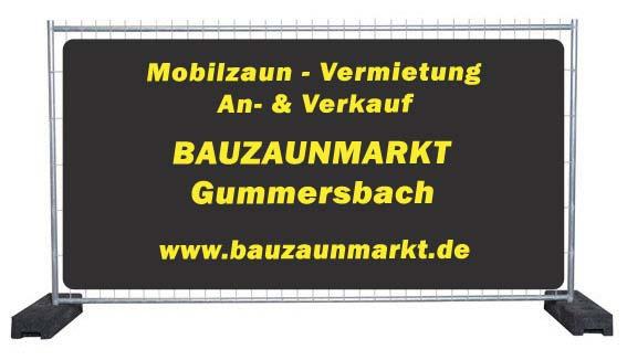 Bauzaun Verleih & Mobilzaun Vermietung Nordrhein-Westfalen/Gummersbach
