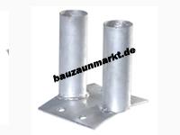 Bodenplatte für Mobilzaun 16x13cm
