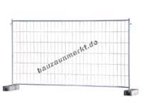 Bauzaun MZ4/Haken und Ösen