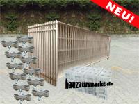 Bauzaunset MZ5/120cm