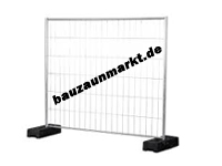 Mobilzaun Ausgleichs-Element 2,20 m Breite