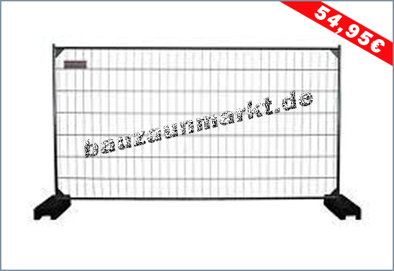 Mobilzaun MZ6 - Anticlimb